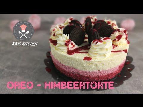 Oreo Himbeertorte   No Bake   Ombre Torte   Ohne Backen   Joghurtsahnetorte - YouTube