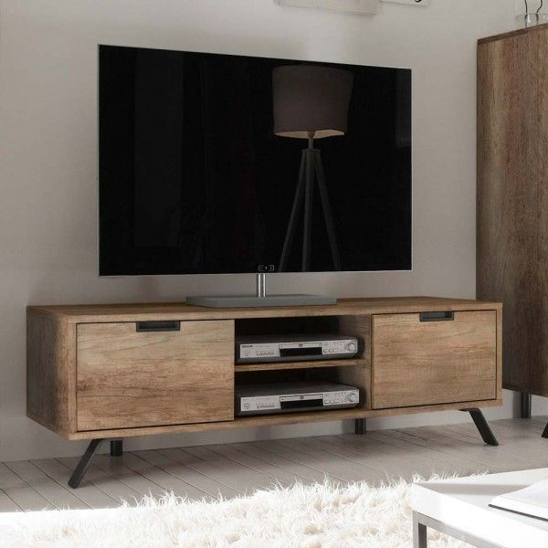 Tv Lowboard Rains In Eiche Im Retro Style Eiche Im Lowboard Rains Retro Style Tv Oak Tv Cabinet Furniture Design Home