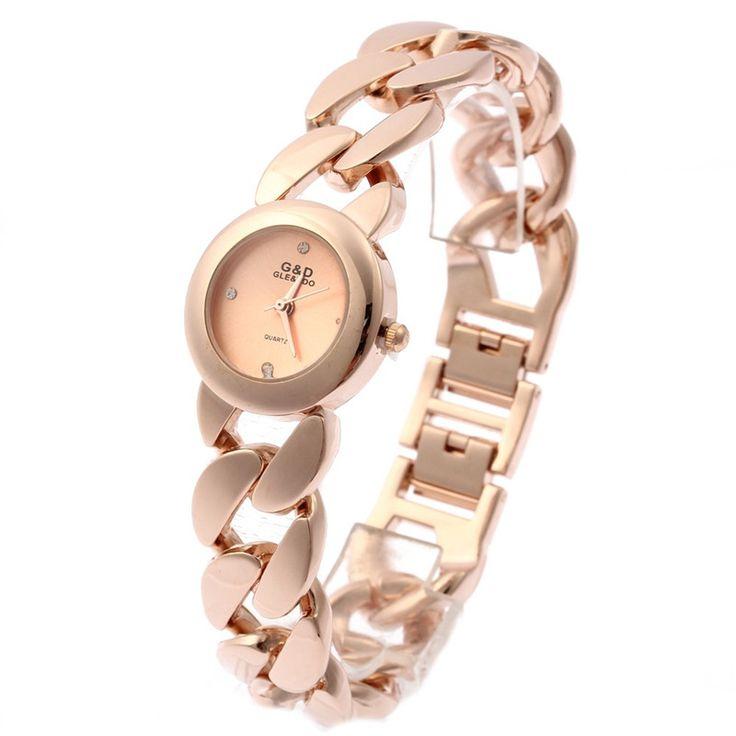 Fashion Montre Femme Horloges Vrouwen Watches Bracelet Women Dress Quartz-watch Wristwatch  Gifts Box Free Ship
