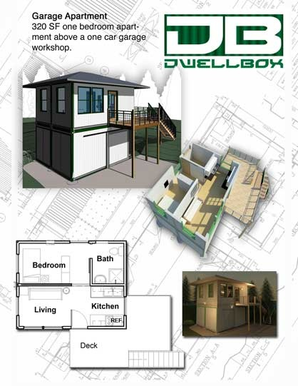 Dwell Box, plans and other ISBU plans