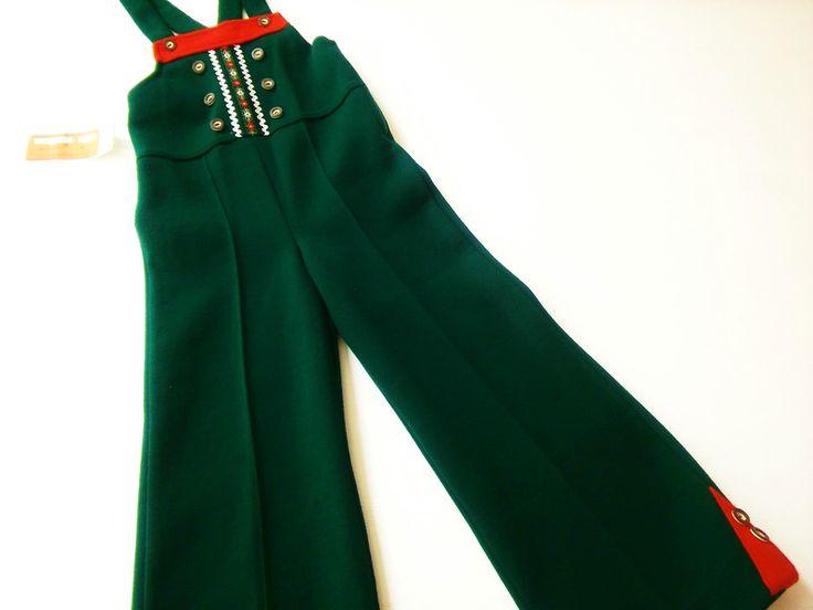 Vintage Kinderkleidung - NEU TrAcHteN 104 LaTzhoSe 70er HipSter Vintage - ein Designerstück von LIEBKIND-bremen bei DaWanda