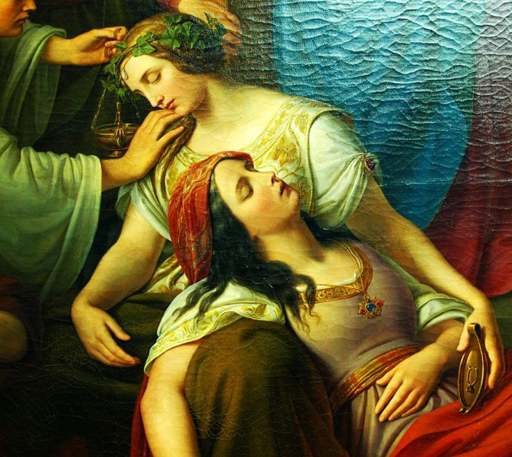Friedrich Wilhelm Schadow - The Parable of the Wise and Foolish Virgins (1838–1842) http://antiqueart.tumblr.com/