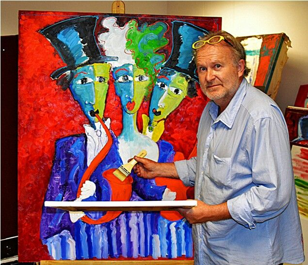Artist Laurens Barnard ( laubar )