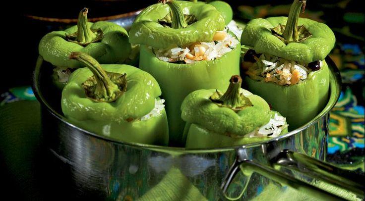 толма из зеленого перца