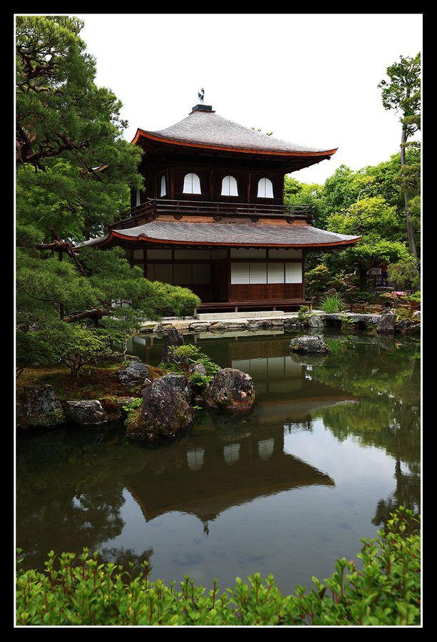 Ginkakuji temple, Japan
