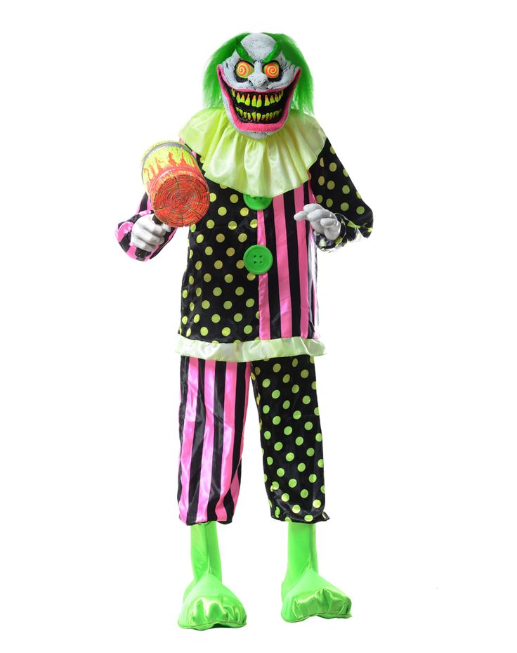wacky mole clown exclusively at spirit halloween love this for a whack a mole prop with heads - Spirit Halloween Props