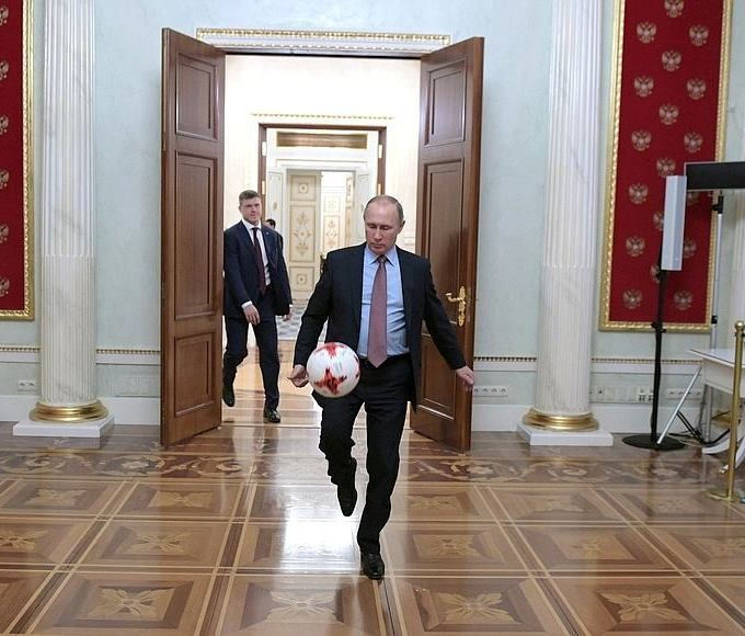 PUTIN VLADIMIR Russian President.