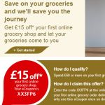 £15 off when your spend £60 At Tesco - Gratisfaction UK Voucher Codes #vouchers #tesco