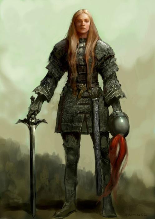 Women Fighters In Reasonable Armor | Rocking Fundas