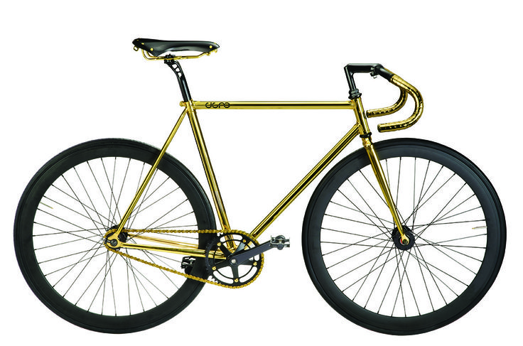 Bicycle - Cigno Fixed Oro www.bernardisrl.net