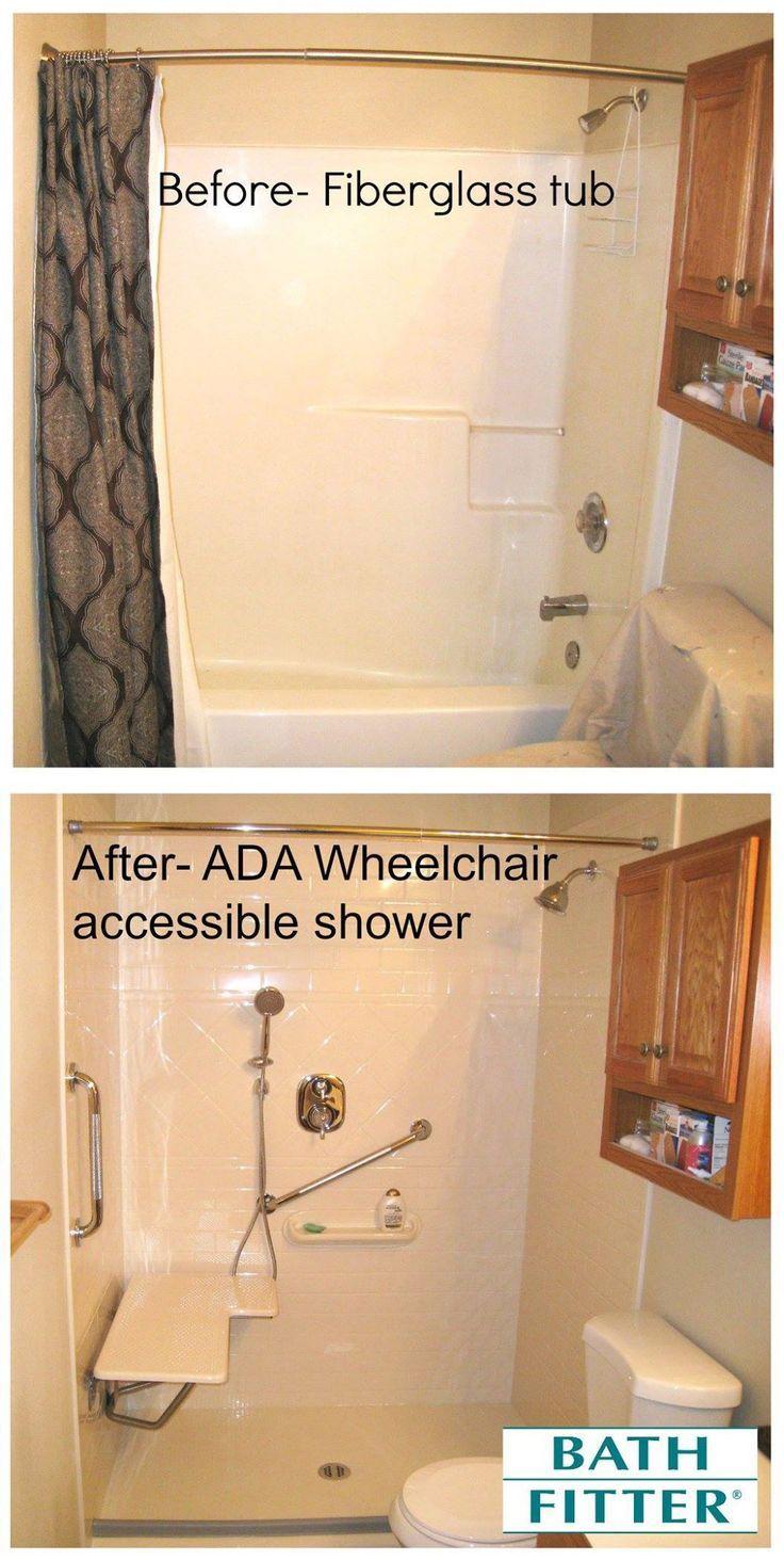51 best Handicap shower / ramps images on Pinterest | Bathroom ...
