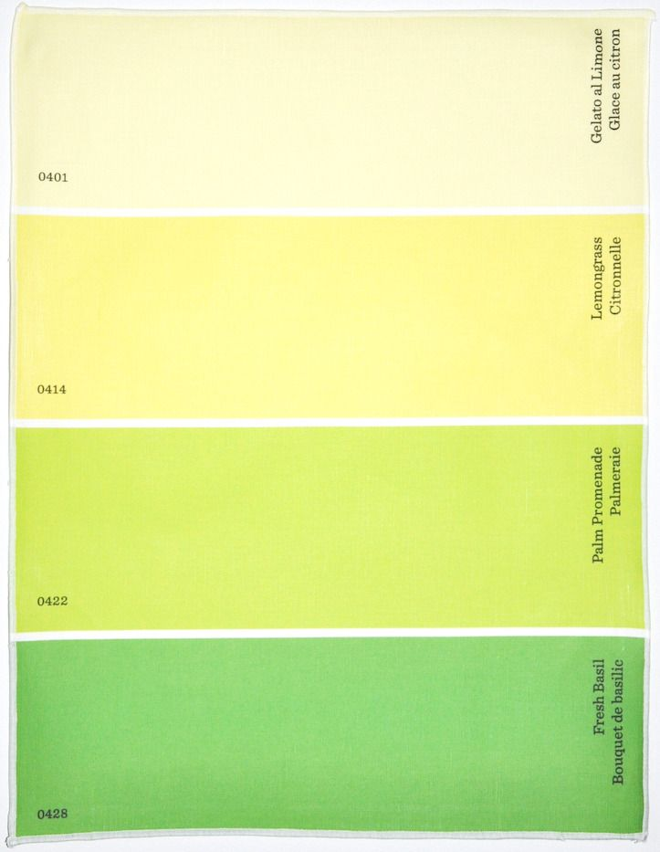 W Color Names In English French These Paint Chip Place Mats Are Made For The Color Design