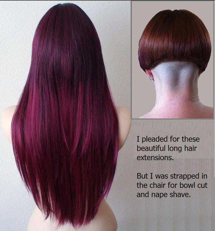 25+ best ideas about Shaved Nape on Pinterest   Undercut ...