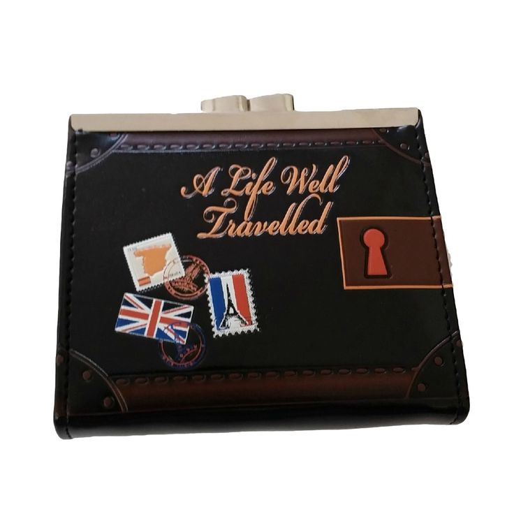A Life Well Travelled Coin Purse