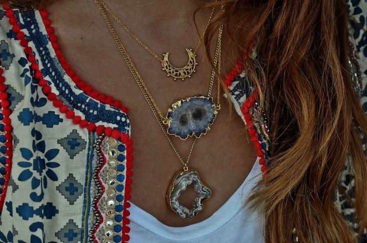 Simona Mar: Blue, Red & Cream Print ♥ Polarised sunglasses