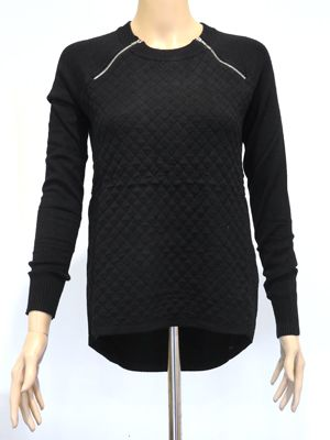 IMPRINT EMMA BLACK JUMPER  A$55.00  wink collection - Knitwear at winkcollection.com.au