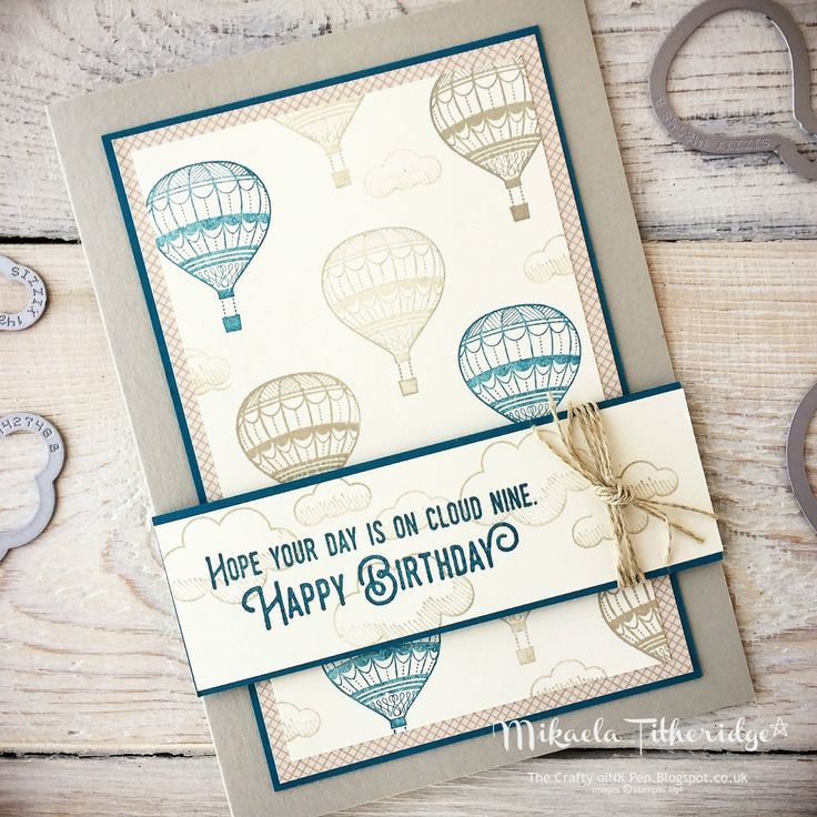 Mikaela Titheridge, Lift me Up Masculine Birthday. www.thecraftyoinkpen.stampinup.net