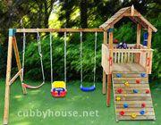 Lion Cub Cubby House Australian-Made Backyard Playground Equipment DIY Kits