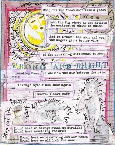 Journal Pages - Karin Winter ArtsWinter Art, Favorite Music, Karin Winter, Counting Crows, Journal Pages, Journals Pages