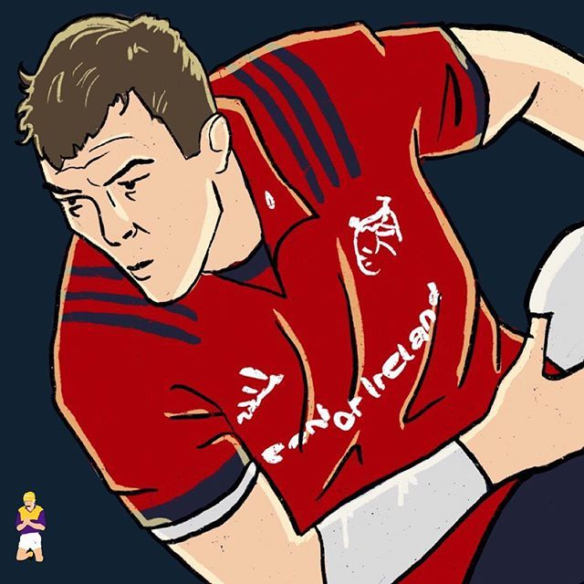 Munster And Ireland Rugby Player Peter Omahony Ireland Rugby Players Ireland Rugby Munster Rugby