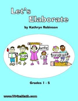 Descriptive writing activities for 5th grade