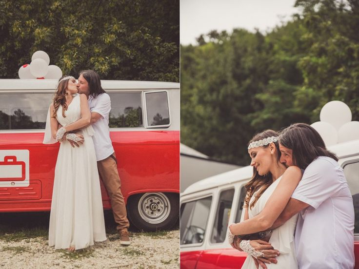 Maria & Endrew Hippie Wedding | United Photographers
