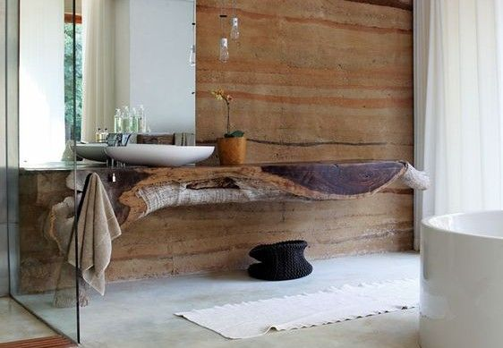 moderne Badezimmer im Vintage Style #Design #dekor ...
