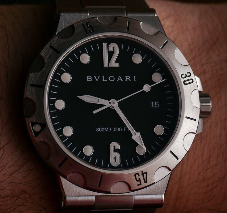 Bulgari Diagono Scuba Watch Hands-On Hands-On