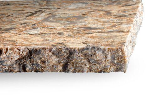 moraine chiseled edge   often named chiseled broken
