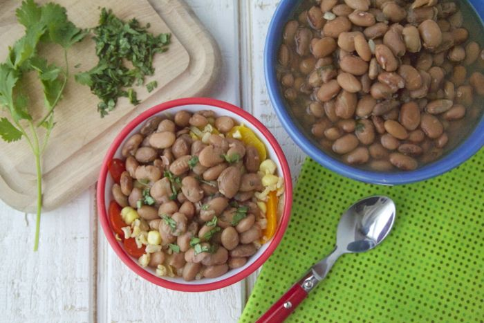 The easiest beans you'll ever make! Pressure Cooker Pinto Beans ...
