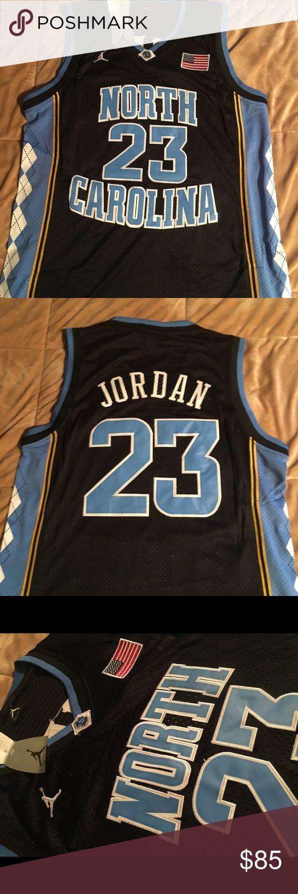 NWT Michael Jordan UNC Jordan Jersey NWT. North Carolina Jersey. Brand new. Medium Nike Shirts