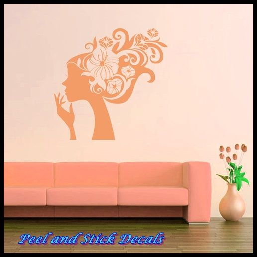 Pretty Wall Art and Décor for Ladies http://peelnstickdecals.blogspot.com/2013/07/pretty-wall-art-and-decor-for-ladies.html http://www.peelnstickdecals.com/