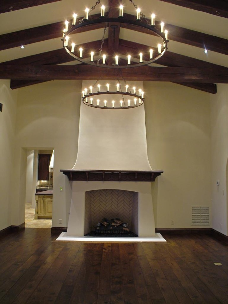 Spanish Plaster Ceiling Decoration : Best ideas about adobe fireplace on pinterest
