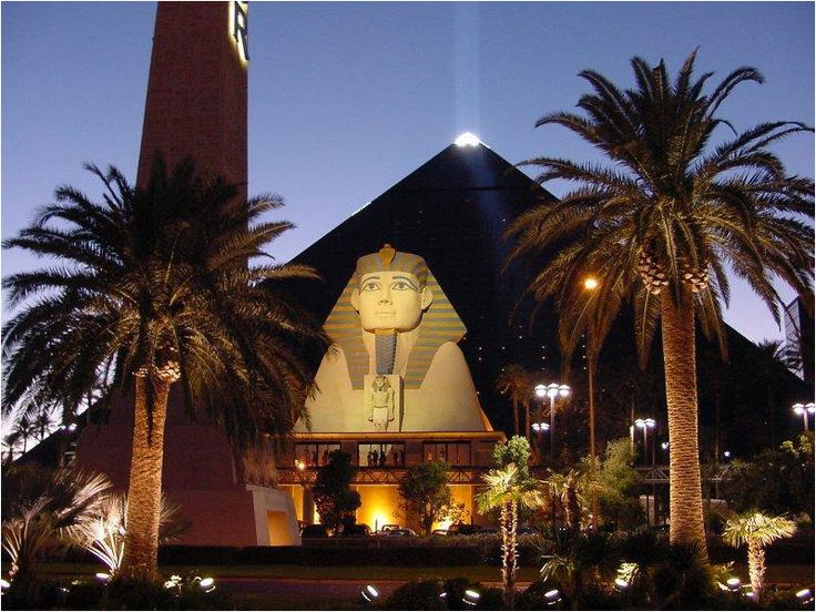 Luxor Hotel & Casino. It's close to my hotel, so I'll probably check it out. :)