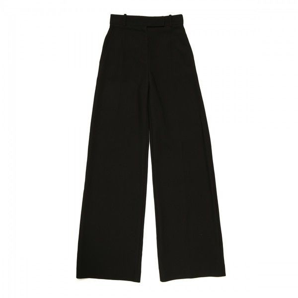 Black palazzo pants ($990) ❤ liked on Polyvore featuring pants, palazzo pants and palazzo trousers