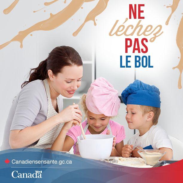Conseils de prévention des maladies d'origine alimentaire : http://www.canadiensensante.gc.ca/eating-nutrition/safety-salubrite/children-under-5-moins-enfant-fra.php?utm_source=Pinterest_HCdns&utm_medium=social&utm_content=Dec15_ChildFoodSafety_FR&utm_campaign=social_media_13