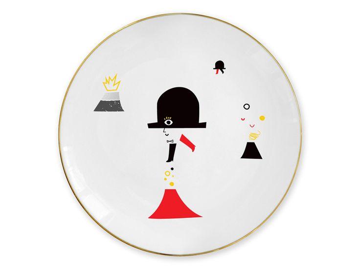 """""""Hatter"""" plate / Talerz """"Kapelusznik"""""""