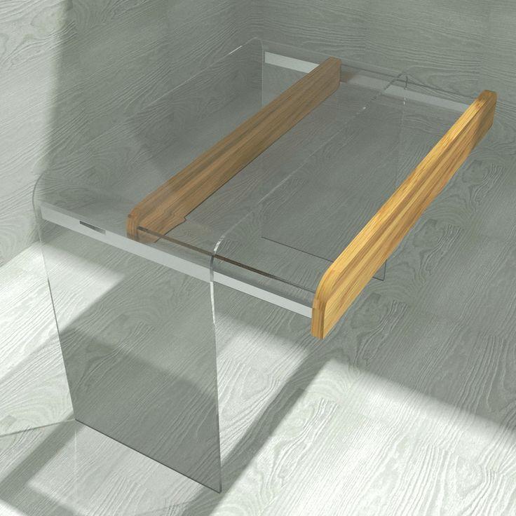 Glass dresser concept by Sedoviko at ADD Awards. Концептуальный проект туалетного столика из стекла от «Седов и Ко» на конкурсе ADD Awards.
