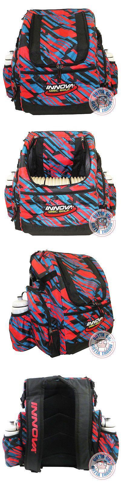 Disc Golf 20851: Innova Heropack Backpack Disc Golf Bag Holds 25+ Discs Brand New - Geometric -> BUY IT NOW ONLY: $79.99 on eBay!