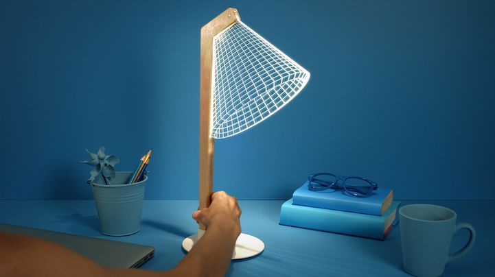 Redesigned 2D Lamps Continue to Mesmerize with 3D Optical