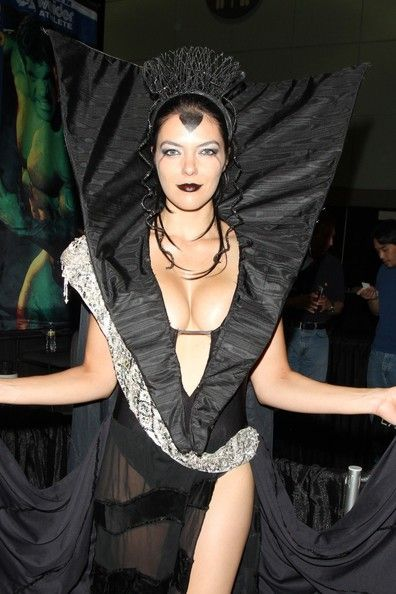 The shiny Adrianne Curry ...  Trendy Fashion...   She is best known as the first winner of the reality television series America's Next Top Model.