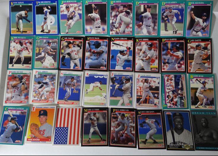 1991 Score Minnesota Twins Team Set of 32 Baseball Cards Missing Gene Larkin #MinnesotaTwins