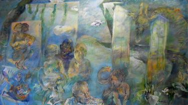 "Saatchi Art Artist Manlio Rondoni; Painting, ""BALENA"" #art"