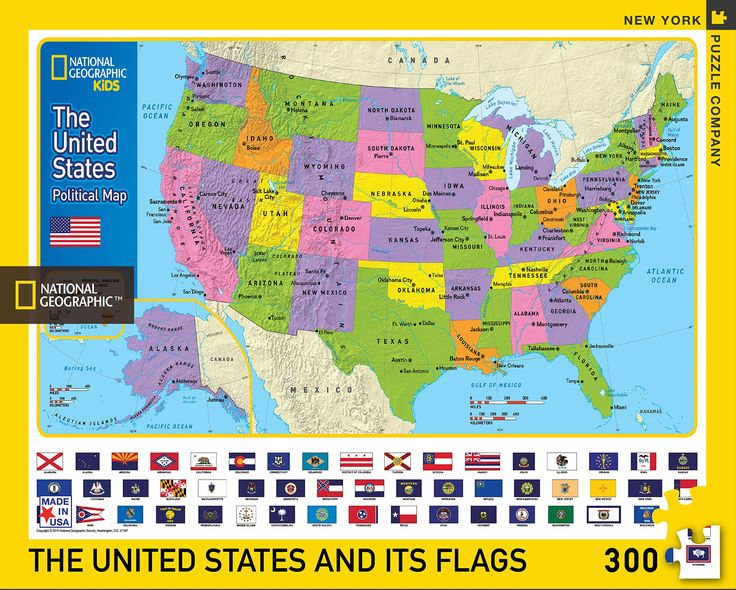 Best Map Jigsaw Puzzles Images On Pinterest Hobby Ideas - Us map jigsaw puzzle