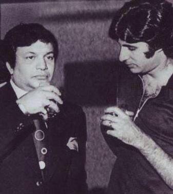 Uttam Kumar and Amitabh