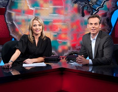 "Michelle Beadle and Colin Cowherd The ""original"" Sportsnation, the best❤"