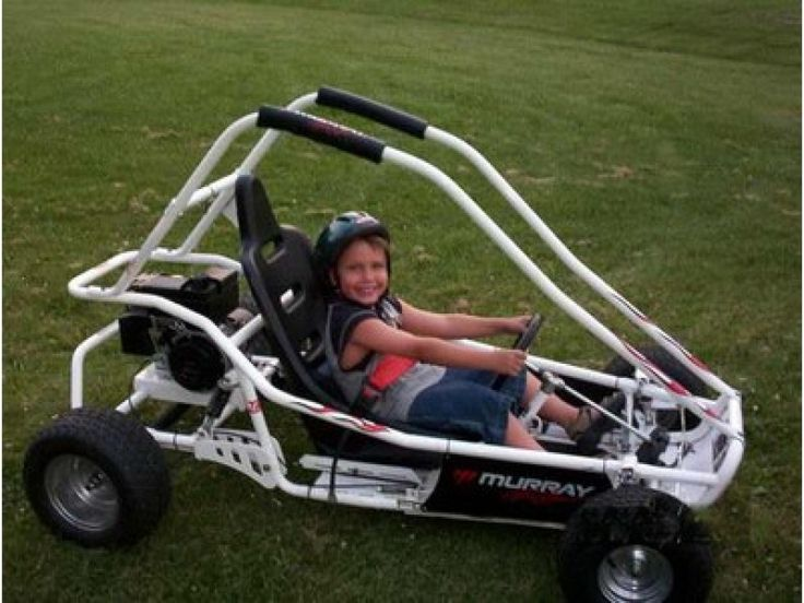 6hp murray go kart...$450 obo! Great Deal! Just needs the included ...