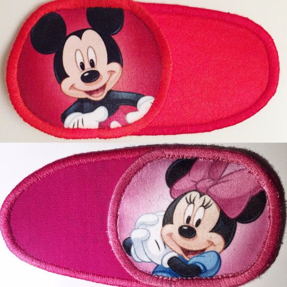 Eye patch for children with Mickey Mouse and Minnie от MalinkaArt