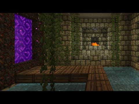 Cool Nether Portal Rooms Google Search Minecraft Pinterest Minecraft