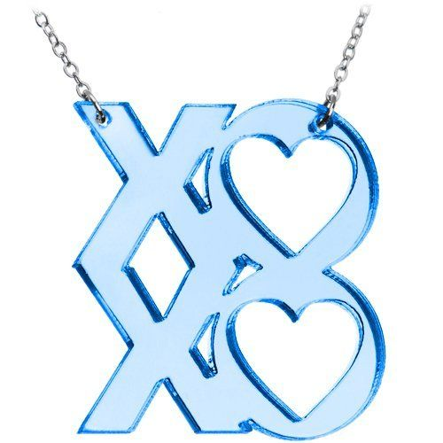 Light Blue XOXO Necklace Body Candy. $11.99. Save 63% Off!